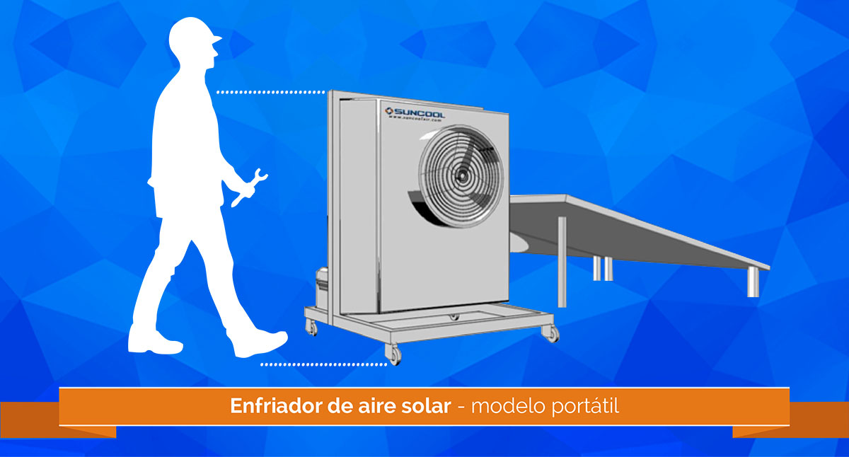 Suncool Air Mexico: Solar air conditioning and cooling