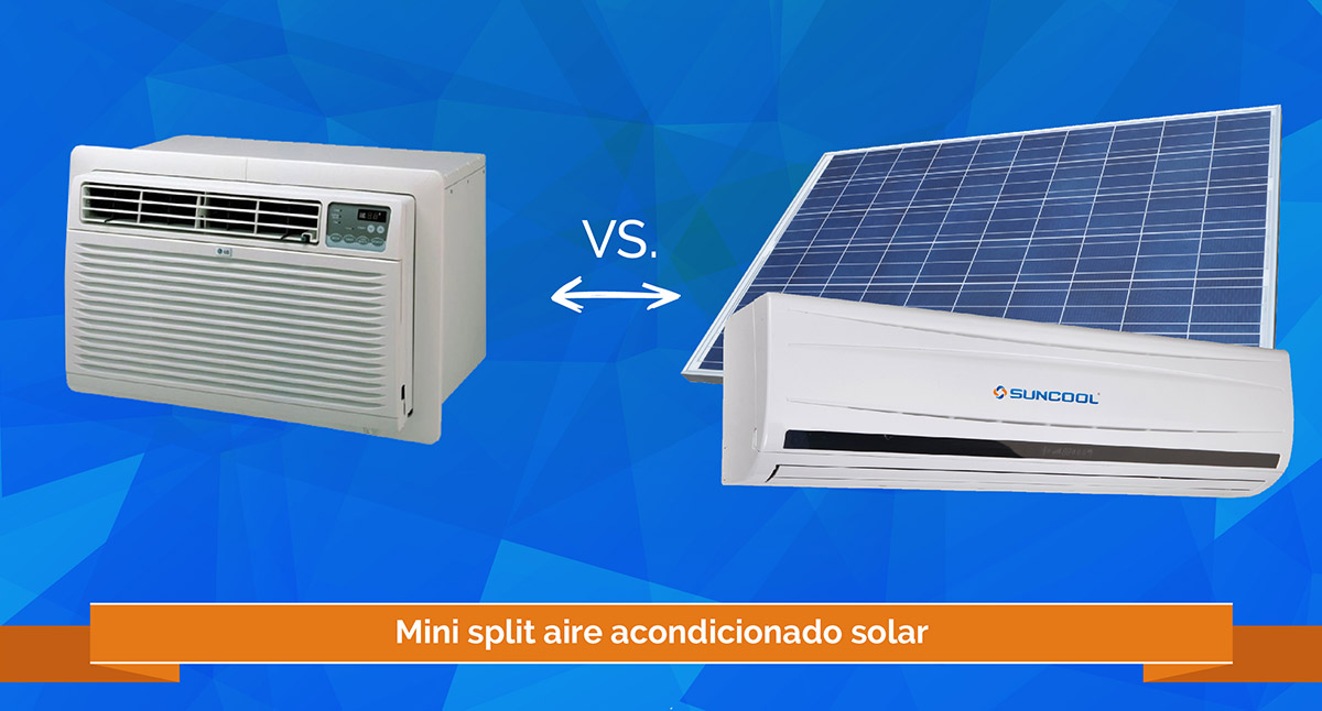 Soalr mini split vs air conditioners